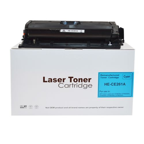 Alpa-Cartridge Comp HP Laserjet CP4025 Cyan CE261A Toner HP648A
