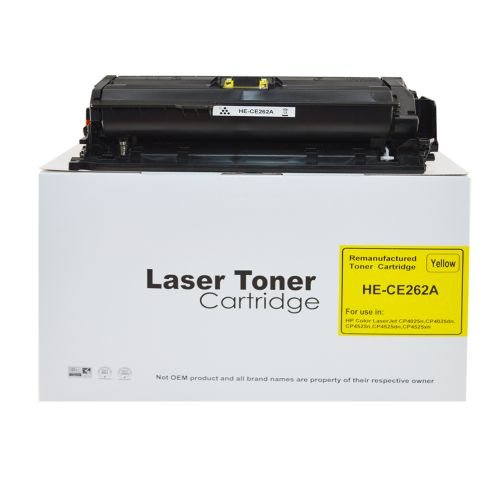 Alpa-Cartridge Comp HP Laserjet CP4025 Yellow CE262A Toner HP648A