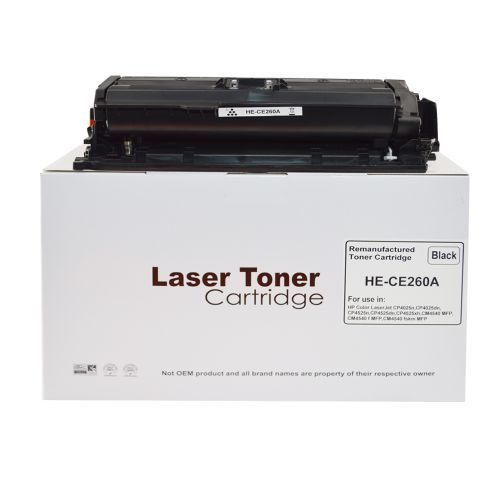 Alpa-Cartridge Comp HP Laserjet CP4025 Std Black Toner CE260A HP648A