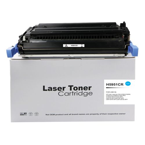 Alpa-Cartridge Reman HP Laserjet 4700 Cyan Q5951A Toner also Q6461A