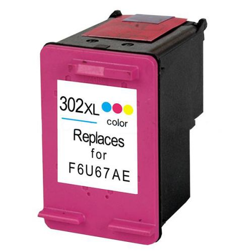 ALPA-CArtridge Reman HP No.302XL Hi Yield Tri-Colour Ink Cartridge F6U67AE