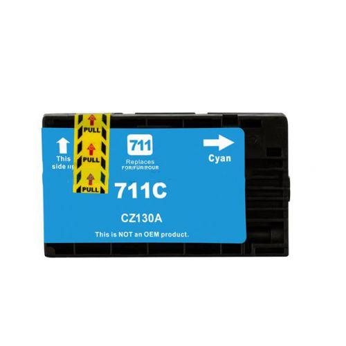 Alpa-Cartridge Comp HP CZ130A Hi Cap Cyan Ink Ctg No HP 711