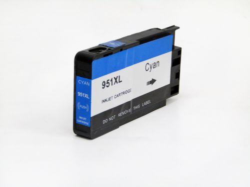 Alpa-Cartridge Comp HP Officejet Pro 8100e Hi Cap Cyan Ink CN046A No 951XL [951XL C(CN046A)]