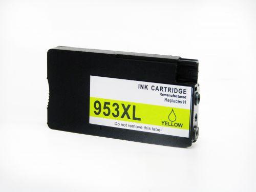 Alpa-Cartridge Reman HP F6U18AE Hi Cap Yellow Ink Ctg HP 953XL
