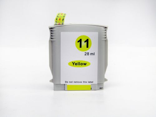 Alpa-Cartridge Comp HP 2200SE Yellow C4838A Inkjet Ctg No 11