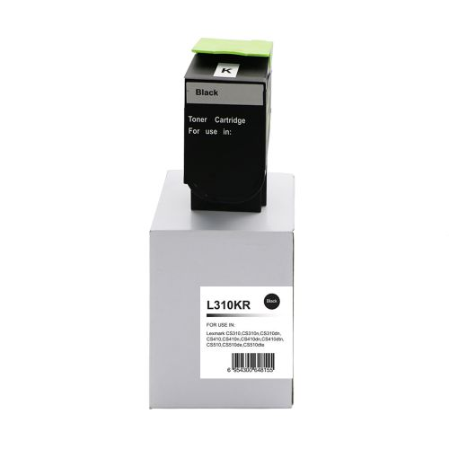 Alpa-Cartridge Reman Lexmark CS310 Black Toner 70C2HK0 702HK also for 700H1