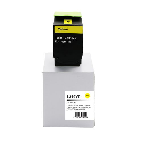 Alpa-Cartridge Reman Lexmark CS310 Yellow Toner 70C2HY0 702HY also for 700H4