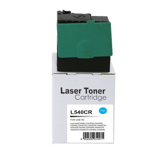 Alpa-Cartridge Reman Lexmark C540 Cyan Toner C540H2CG