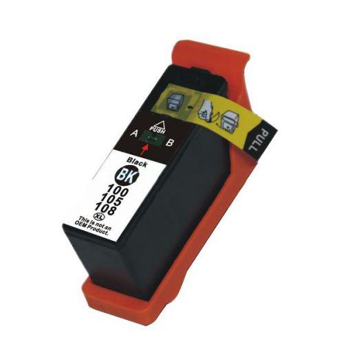 Alpa-Cartridge Comp Lexmark 100XL Black Ink Ctg 014N1068E [100XL BK]
