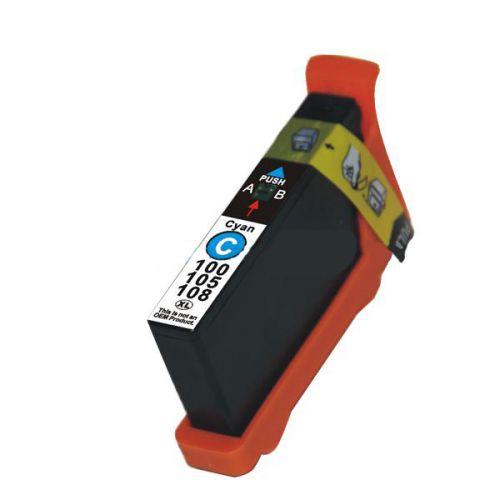 Alpa-Cartridge Comp Lexmark 100XL Cyan Ink Ctg 014N1069E [100XL C]