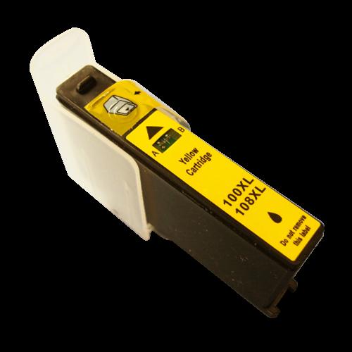 Alpa-Cartridge Comp Lexmark 100XL Yellow Ink Ctg 014N1071E [100XL Y]