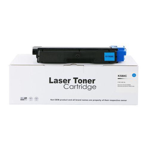 Alpa-Cartridge Comp Kyocera Mita FSC5150 TK580C Cyan Toner