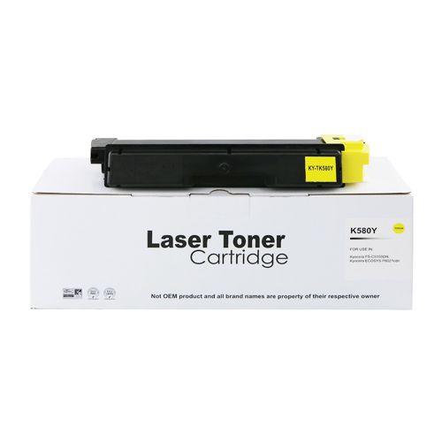 Alpa-Cartridge Comp Kyocera Mita FSC5150 TK580Y Yellow Toner