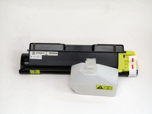Compatible Kyocera TK590Y Yellow Toner