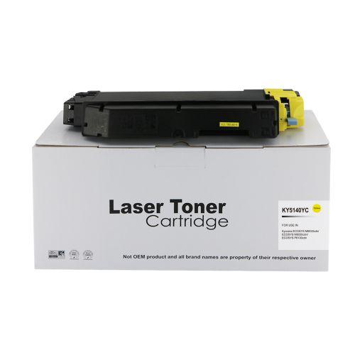 Alpa-Cartridge Comp Kyocera TK5140Y Yellow Toner
