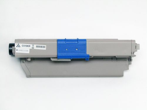 Alpa-Cartridge Reman OKI C310 Black Toner 44469803