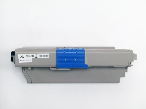Alpa-Cartridge Comp OKI C321 C301 Black Toner 44973536