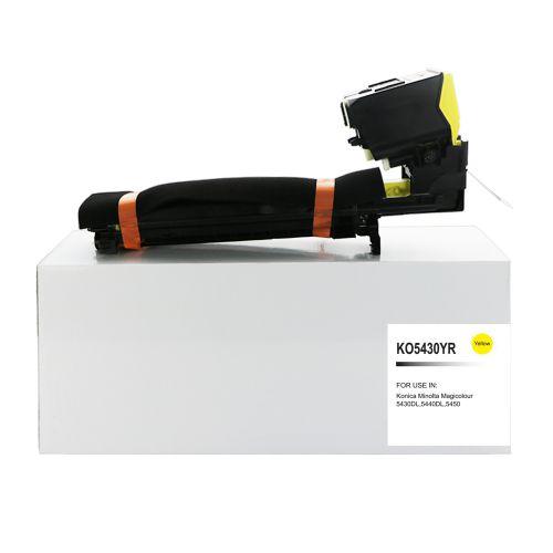 Alpa-Cartridge Reman Konica Minolta Magicolor 5430 Yellow Toner 1710582-002