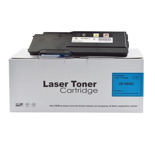Alpa-Cartridge Comp Xerox Phaser 6600 Hi Cap Cyan Toner 106R02229