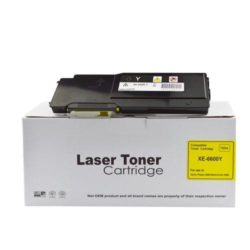 Alpa-Cartridge Comp Xerox Phaser 6600 Hi Cap Yellow Toner 106R02231