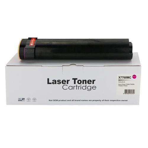Alpa-Cartridge Comp Xerox Phaser 7760 Hi Cap Magenta Toner 106R01161
