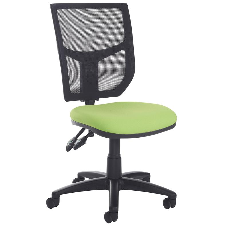 Altino High Back Operator Chair Without Arms Blue