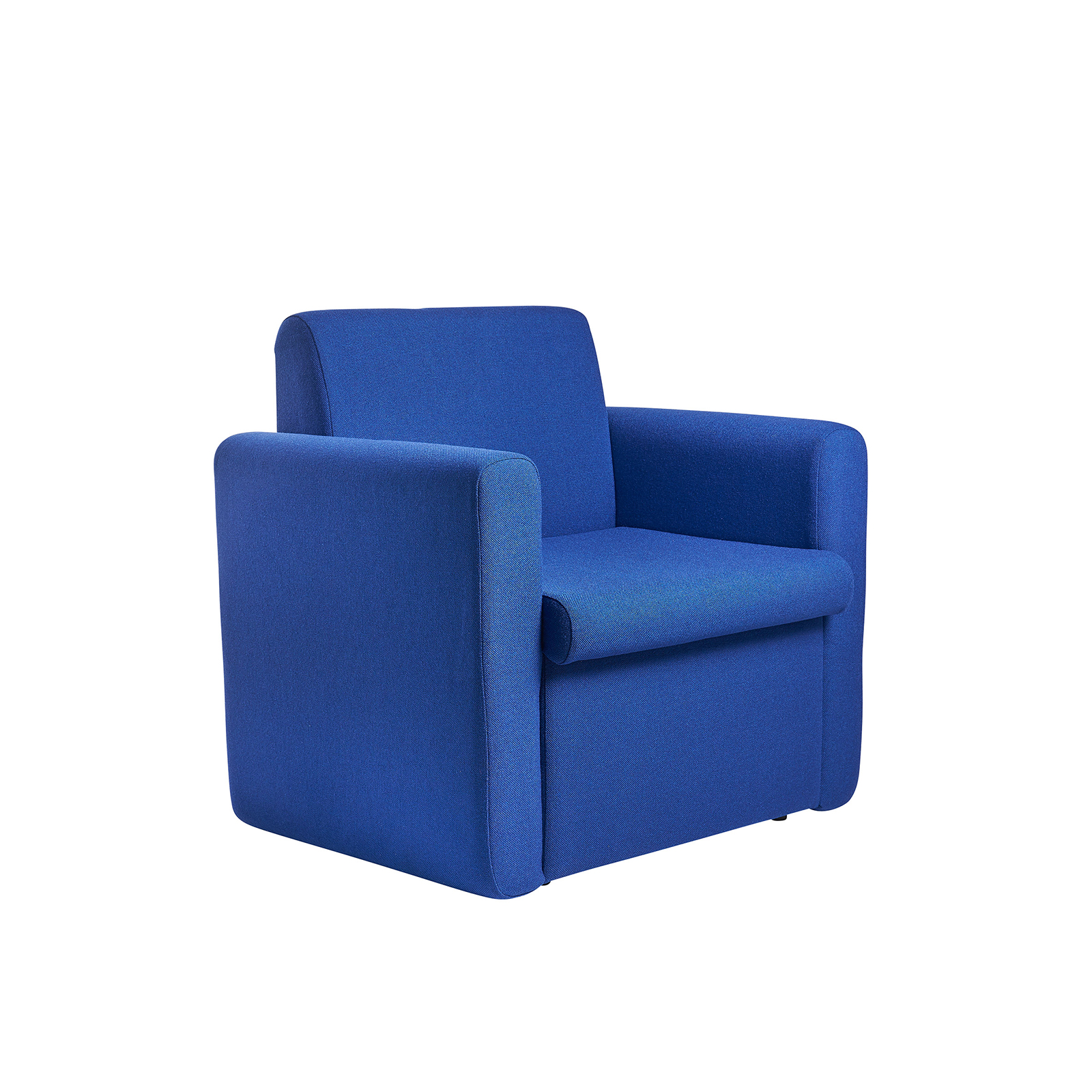 Alto modular reception seating armchair - blue