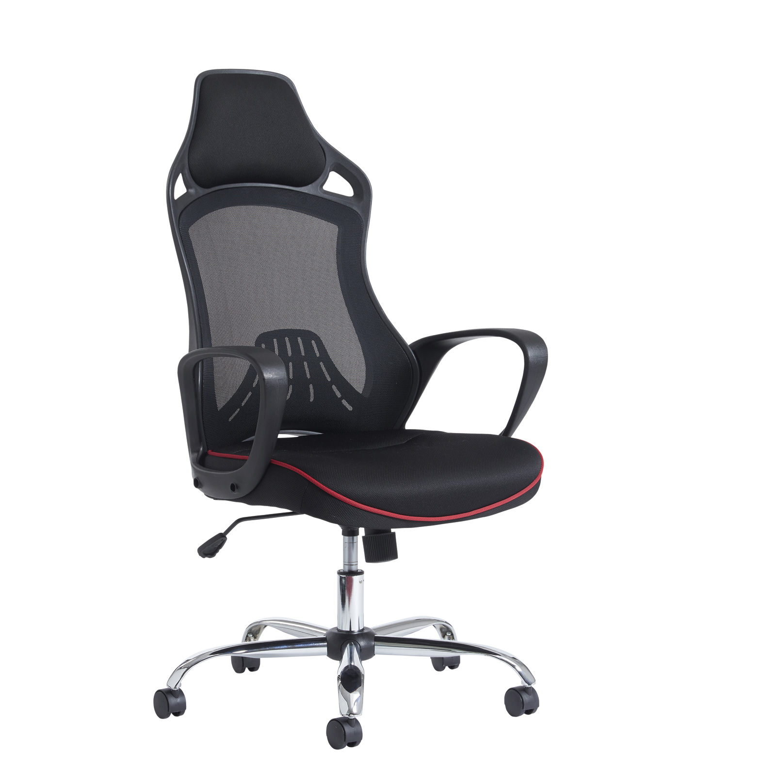 Image for Andretti High Mesh Back Chair - Black