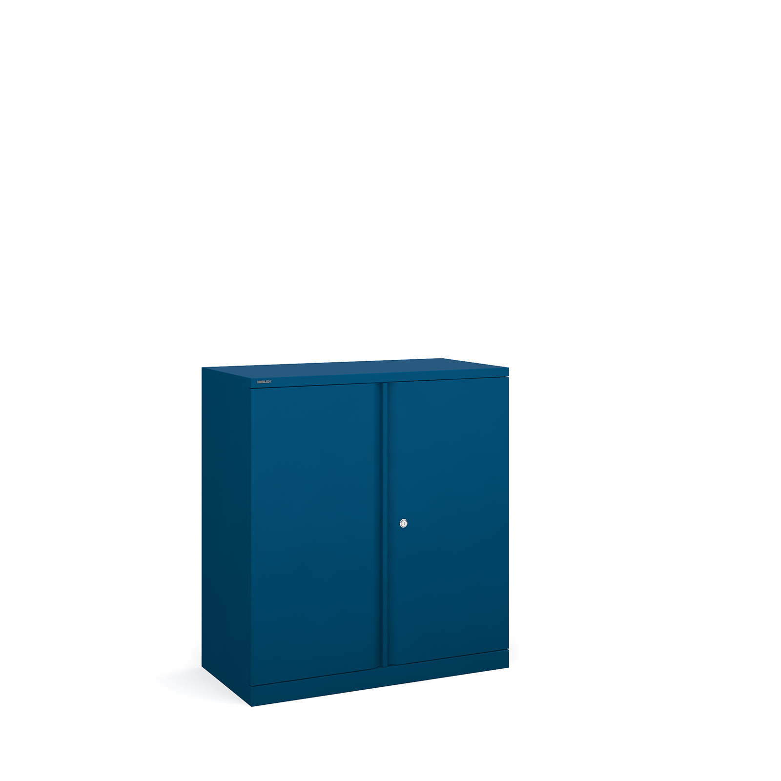 Bisley systems storage low cupboard 1000mm high - blue