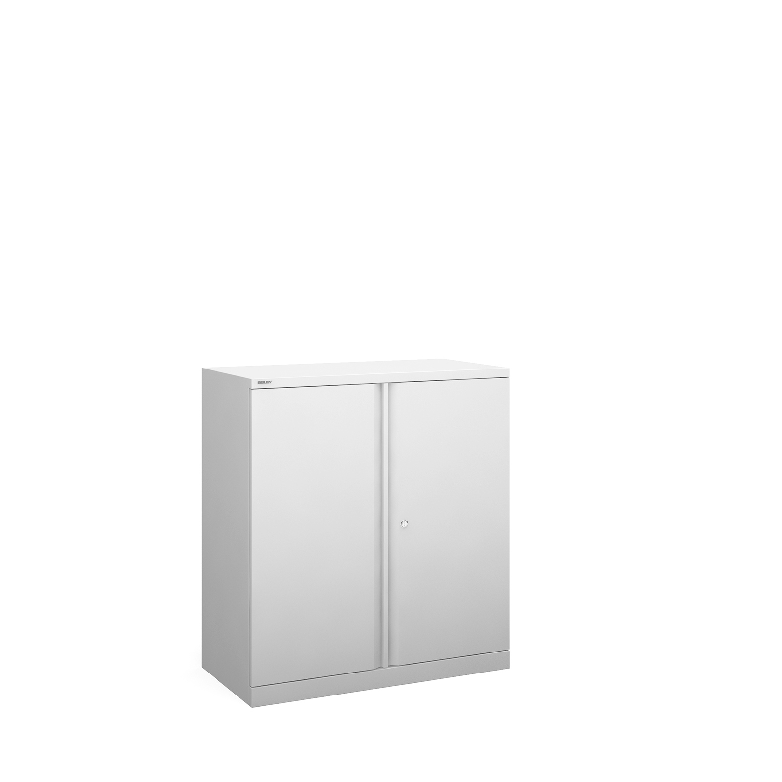 Bisley systems storage low cupboard 1000mm high - white