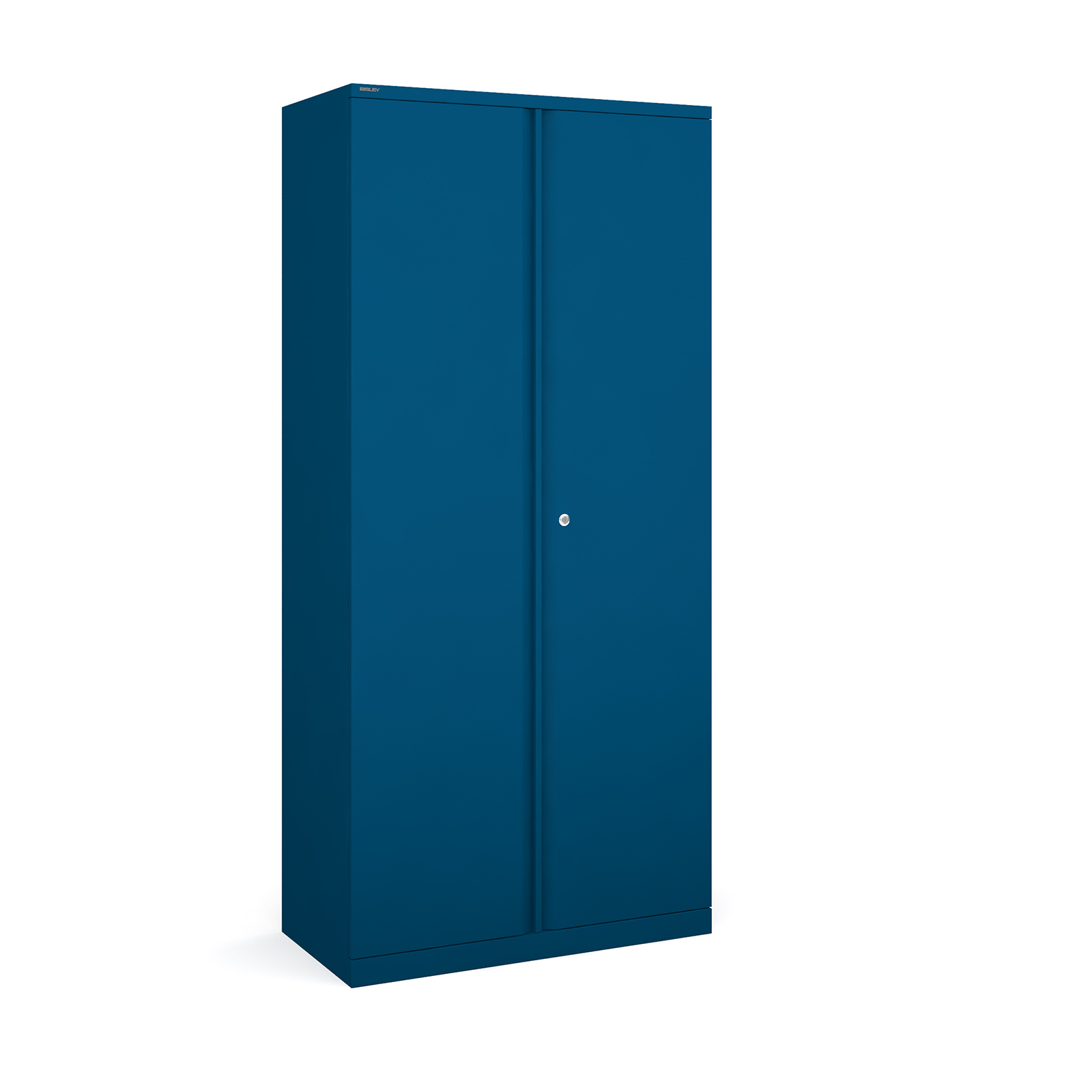 Bisley systems storage high cupboard 1970mm high - blue