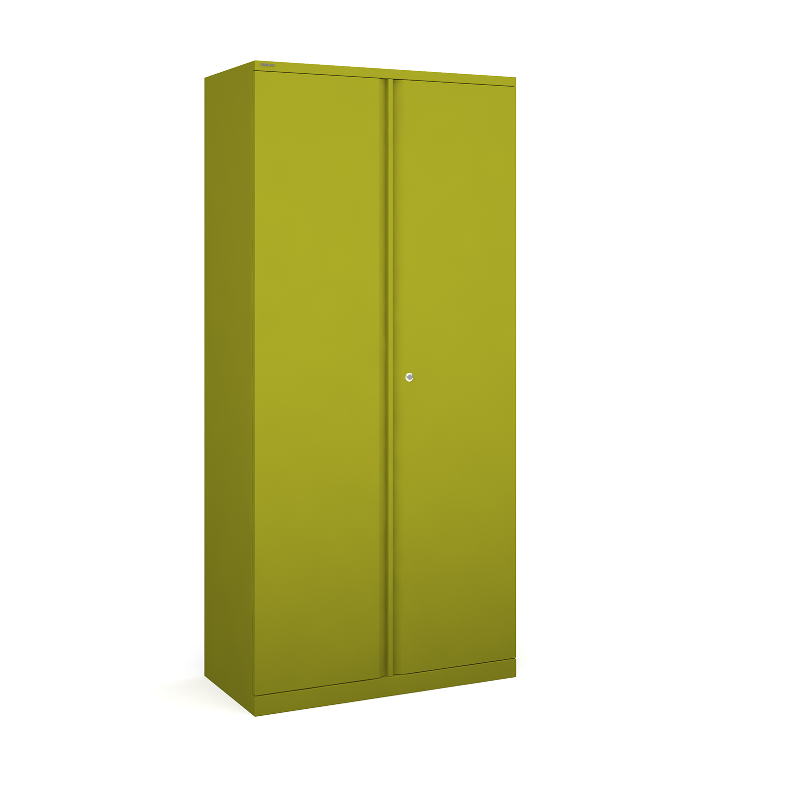 Bisley systems storage high cupboard 1970mm high - green