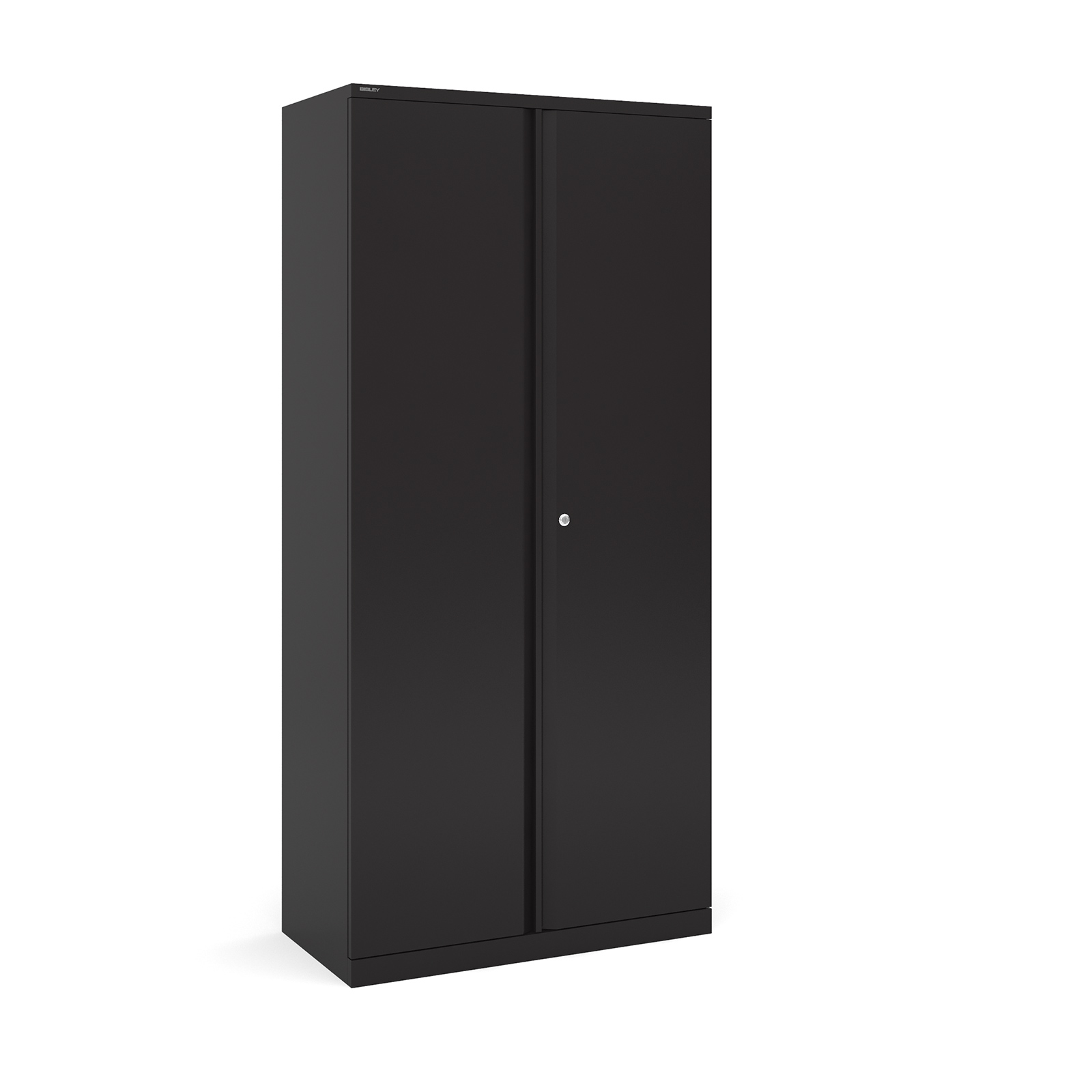 Bisley systems storage high cupboard 1970mm high - black