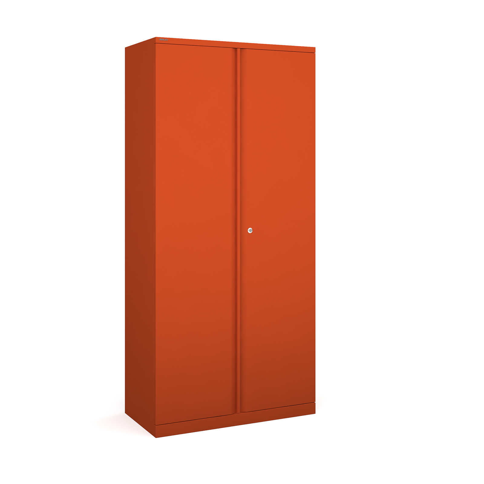 Bisley systems storage high cupboard 1970mm high - orange