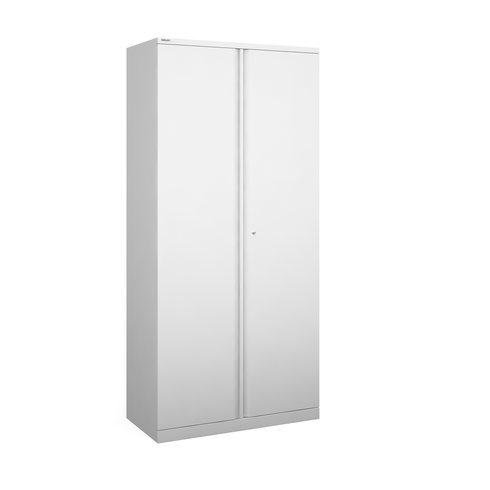 Bisley systems storage high cupboard 1970mm high - white