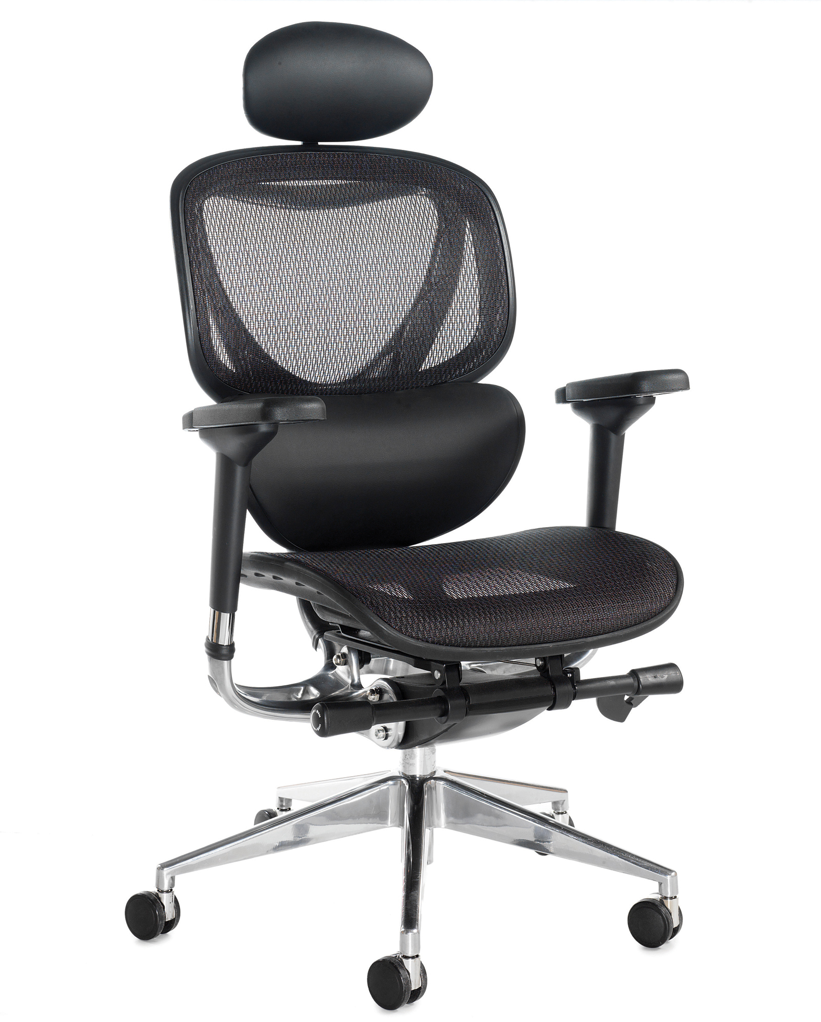 Boron Executive Black Mesh High Back Chair Black