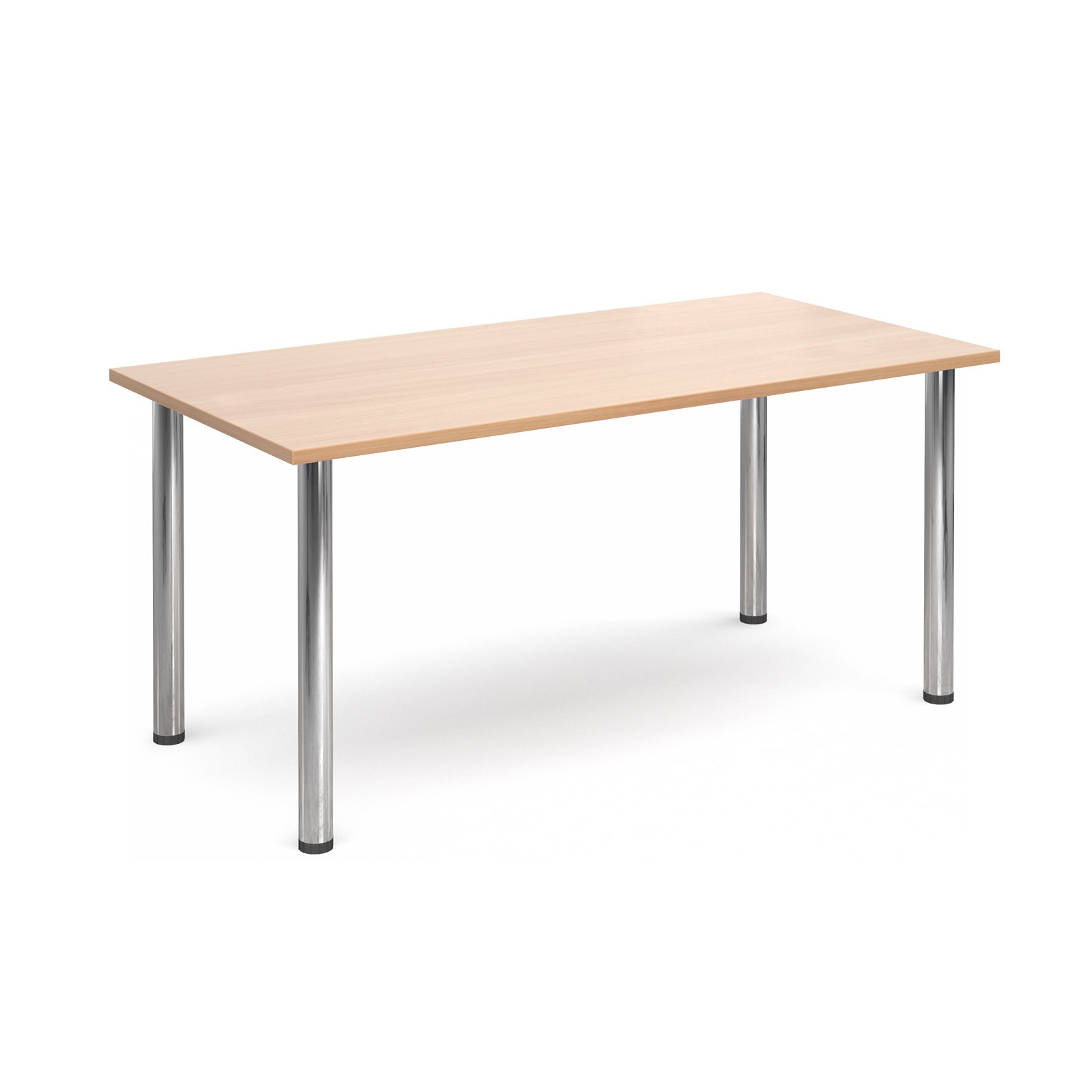 Image for Rectnglr Deluxe Chrome Radial Leg Table