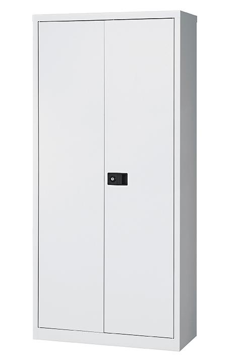 Dams steel cupboard with 3 shelves Grey