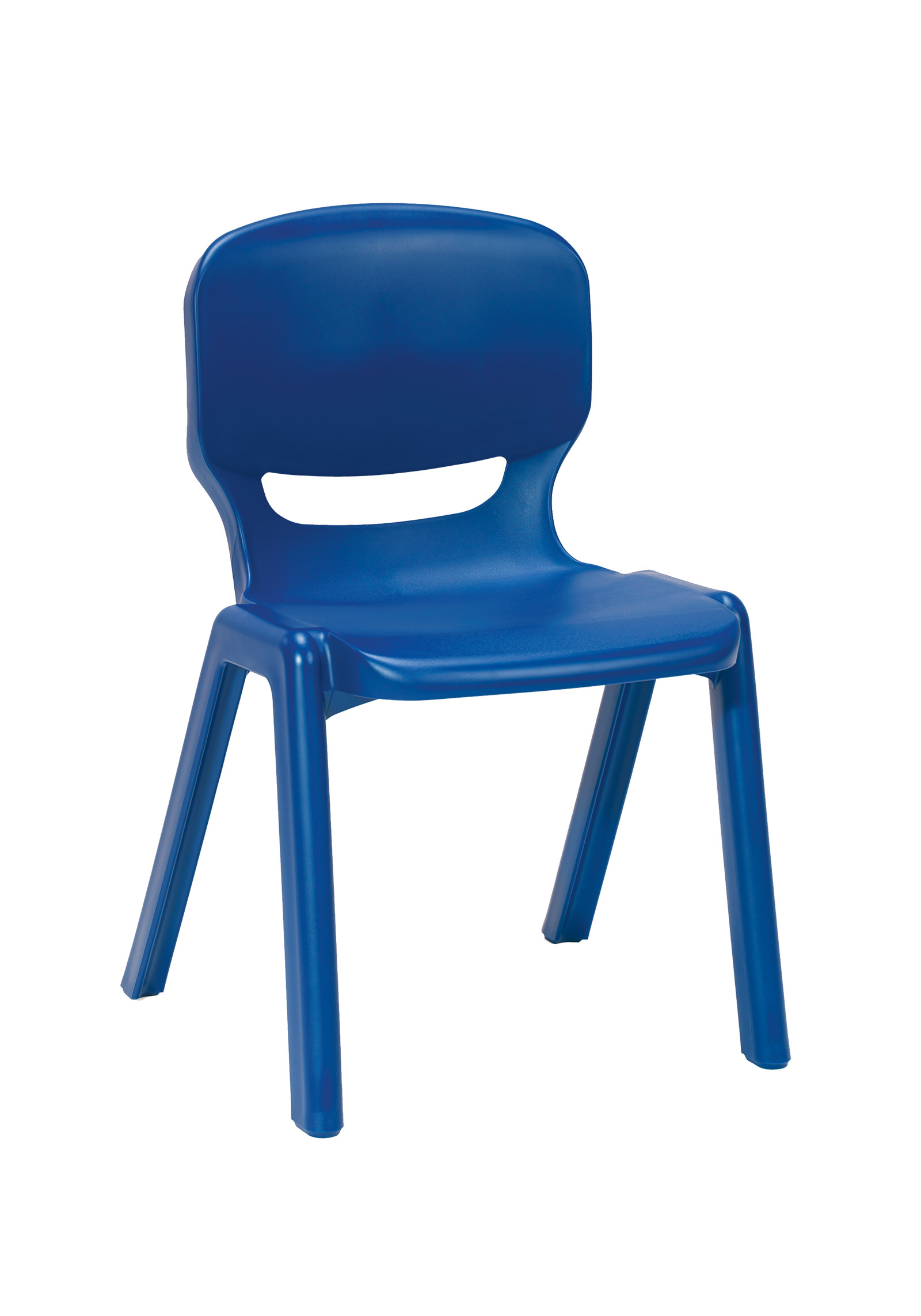 Ergos Versatile One Piece Educational Chair For Age 14-16 - Blue