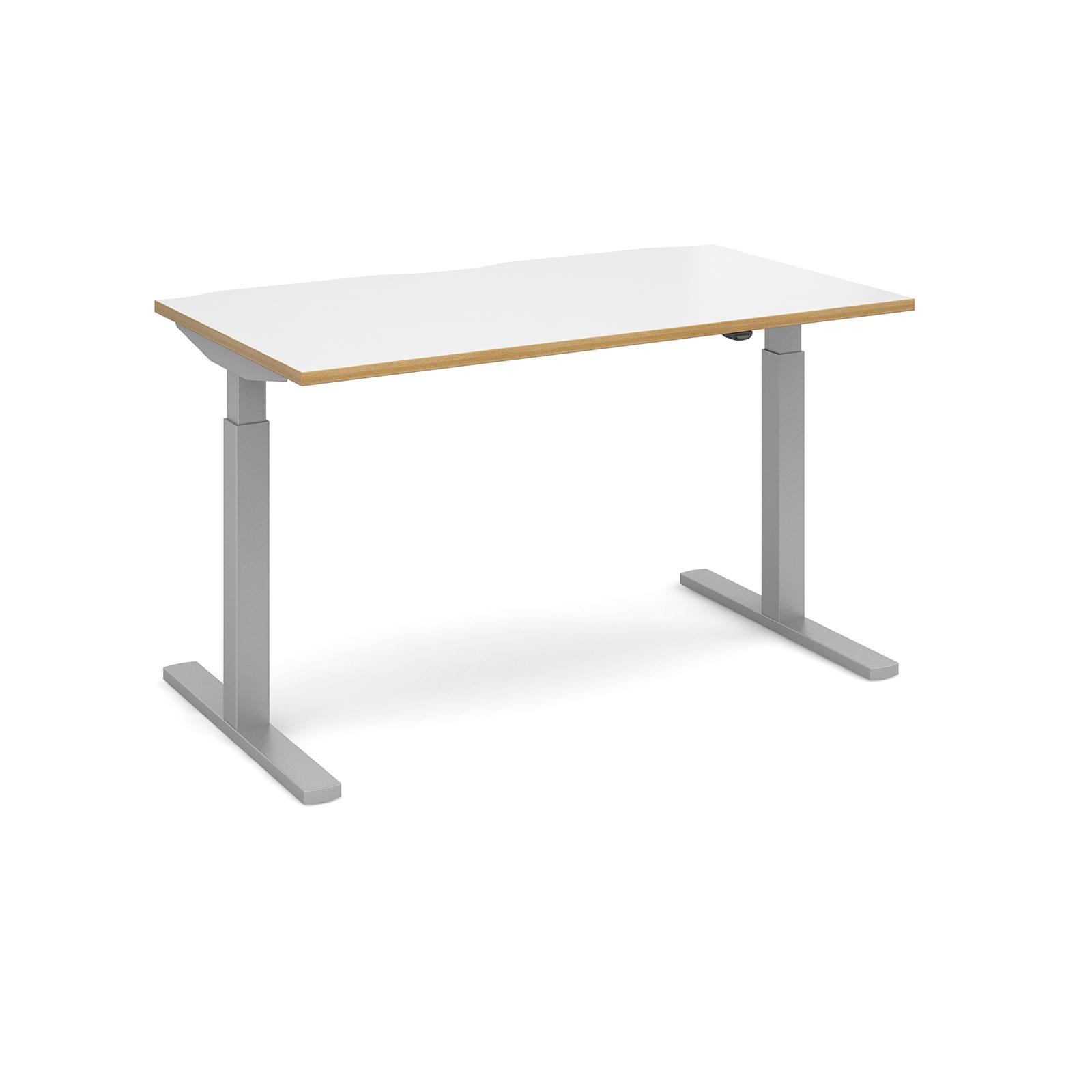 Elev8 Mono Straight Sit-Stand Desk 800d