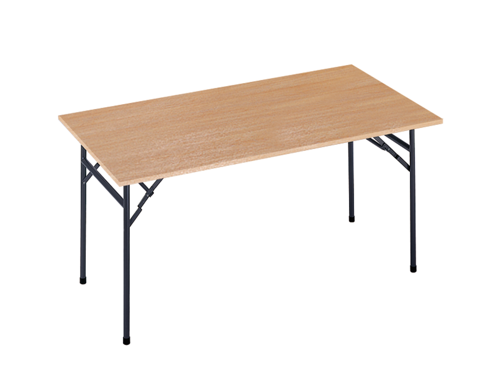 Verona Folding Leg Rectangular Table 1524x746mm Beech