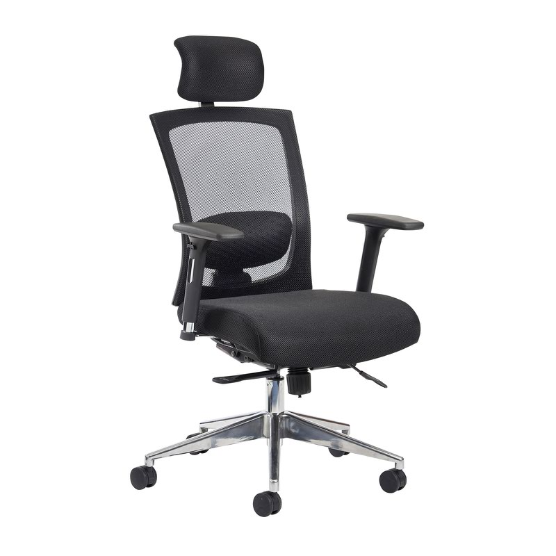 Gemini 300 Fabric Mesh Operator Chair