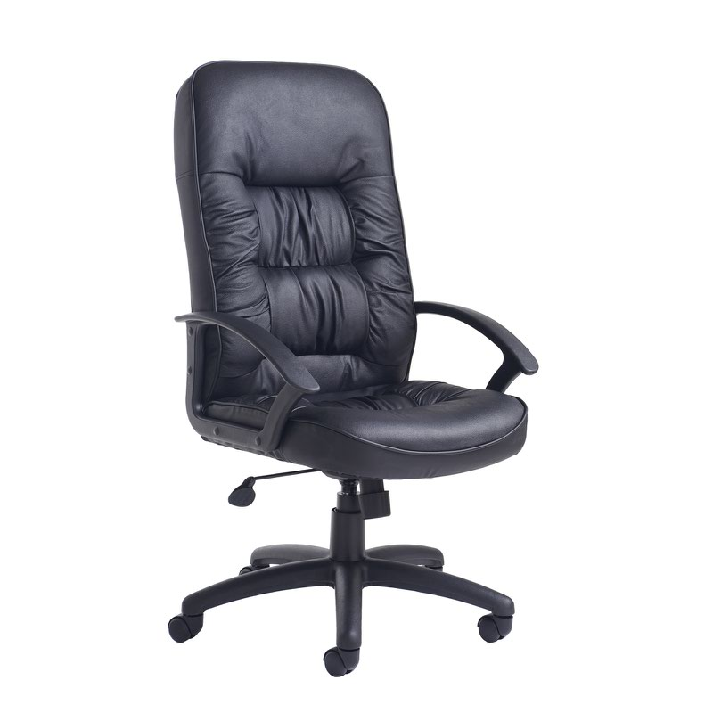 King high back managers chair