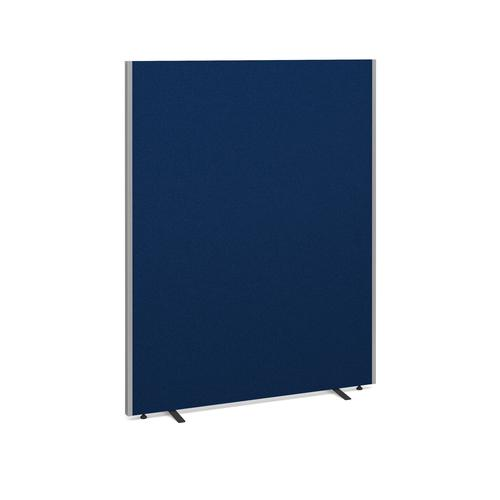Floor standing fabric screen 1800mm high