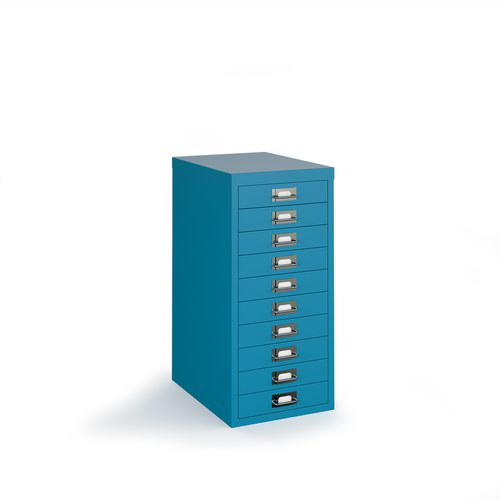 Image for Bisley multi drawers with 10 drawers - blue