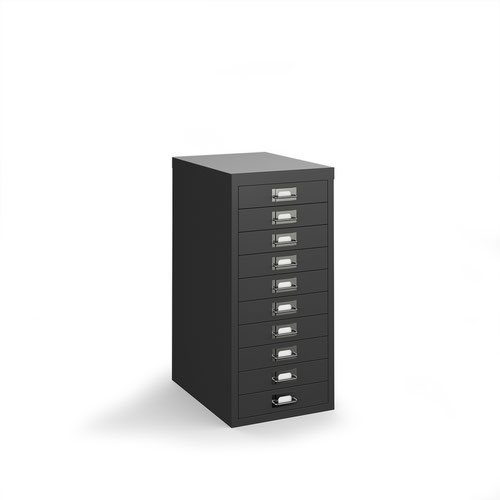 Image for Bisley multi drawers with 10 drawers - black