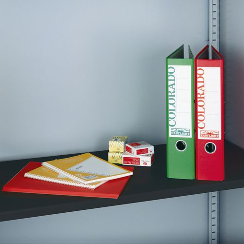 Image for Extra shelf for steel storage cupboards - black
