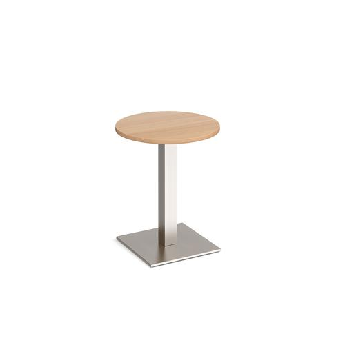 Brescia circ dining table square base