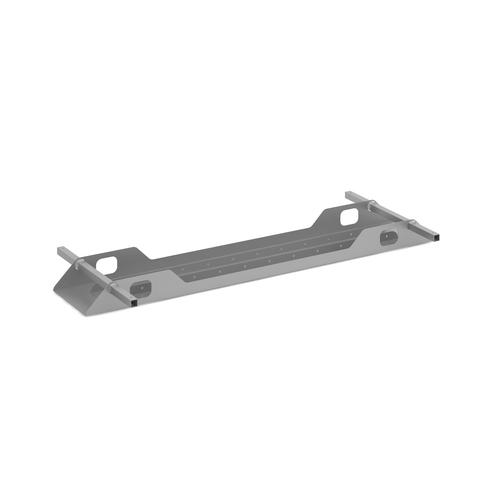 Connex double cable tray 1600mm - silver