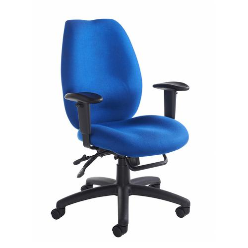 Image for Cornwall multi functional operator chair - blue